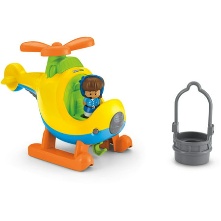Fisher-Price Little People Spin 'n Fly Helicopter