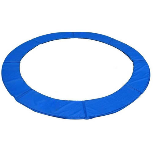 Trampoline Replacement Safety Pad Frame Spring Round Cover, 14-Foot, Blue