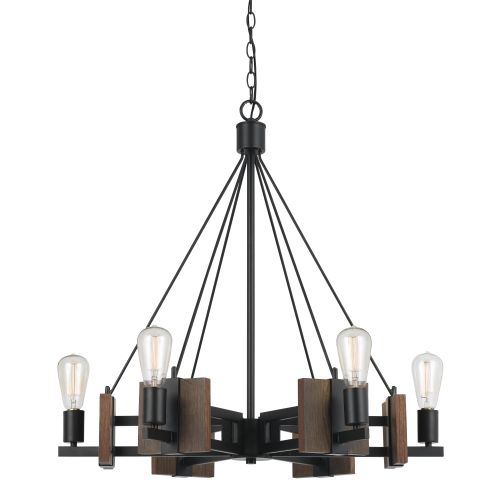 Cal Lighting FX-3587-6 Carrizo 6 Light Chandelier