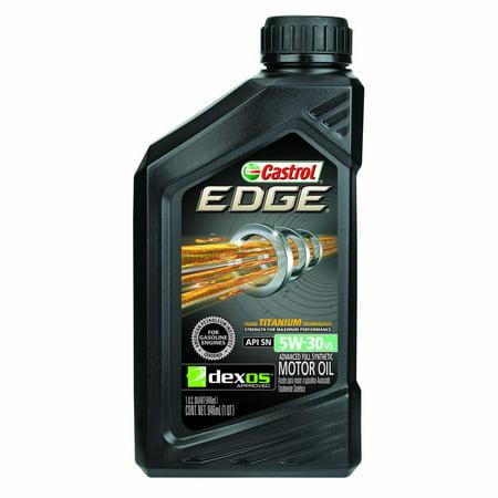 079191262481 upc castrol 5 edge w syntec synthetic motor for 0w 20 motor oil autozone