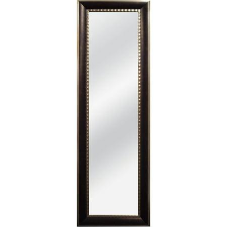 Over the door mirror with profile bronze 12x48 for 12x48 door mirror