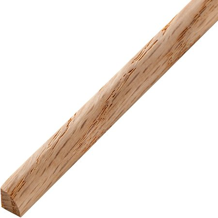 Quarter Moulding - Oak - Quarter Round Real Hardwood Molding, 48