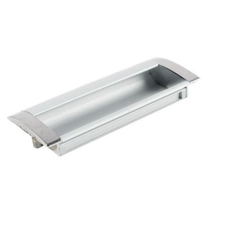 "Cabinet Hardware Parts Aluminum Flush Pull Handle 4.2"" Length"