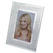 DecorFreak Mirror Finish Silver Photo Frame - 4 x 6 in.