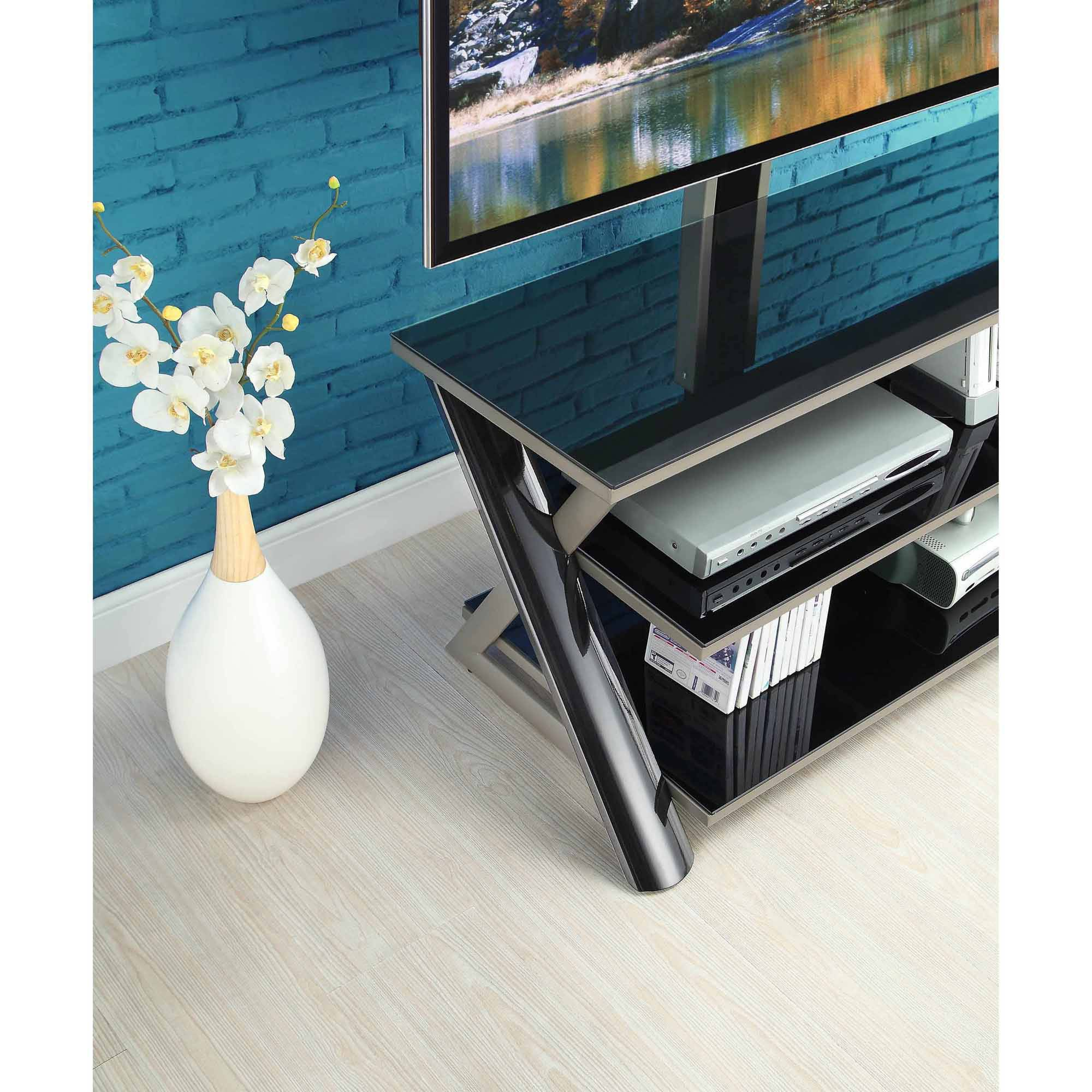 Whalen 3 In 1 Flat Panel Tv Entertainment Stand For Tvs Up To 50