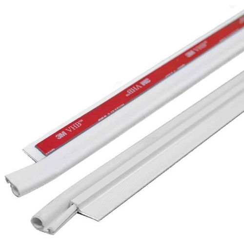 """M-D Building Products 43304 42"""" Cinch Top and Side Door Seals - 5 Piece (White)"""