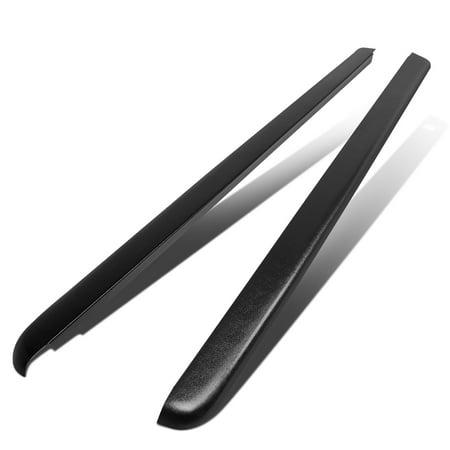 For 2007 to 2014 GMC Sierra 1500 / 2500HD / 3500HD 8Ft Fleetside Long Bed Side Rail Molding Caps (Pair) 13 12 11 10 09 08