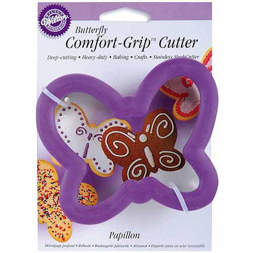 "Wilton Comfort Grip 4"" Cookie Cutter, Butterfly 2310-614"