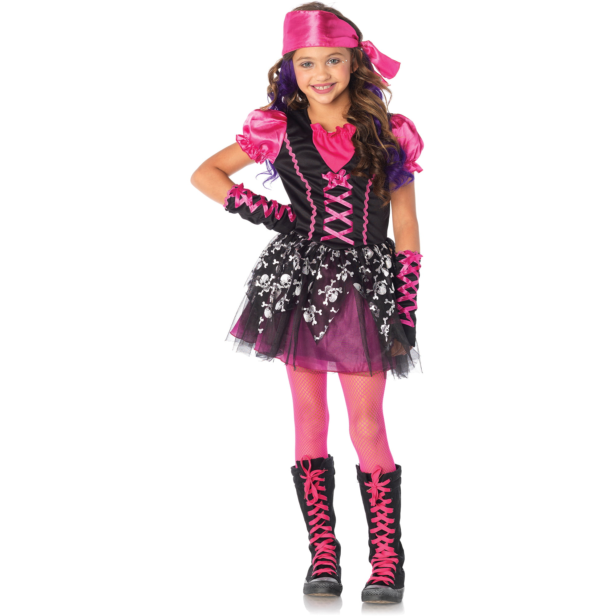 sc 1 st  Walmart & Pretty Pirate Child Halloween Costume - Walmart.com