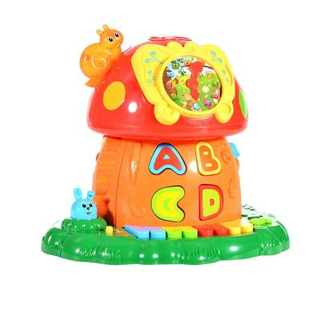 Magic Mushroom House Baby Electronic Learning Toys