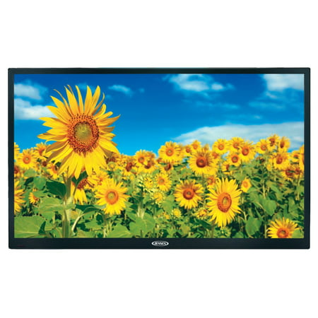 """Jensen JE4015 40"""" LED AC Wallmount Television with Integrated HDTV (ATSC) Tuner and Remote Control, HDTV Ready (1080p, 720p, & 480p), White LED Illumination, High Performance Wide 16:9 LCD panel, 110V"""