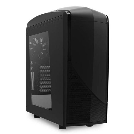 NZXT Phantom 240 No Power Supply ATX Mid Tower Computer Case (Matte (Nzxt Tempest 210 Atx Mid Tower Case)
