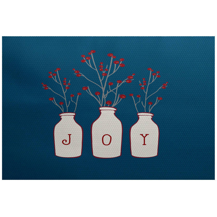 Simply Daisy 2' x 3' Joy Floral Print Indoor Rug