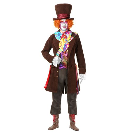 Halloween Mad Hatter - Plus Adult Costume](Plus Size Mad Hatter Costumes)