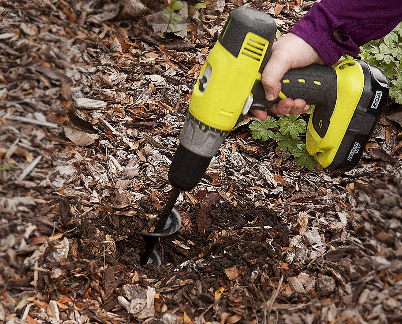 Flower Bulb HEX Shaft Drill Planter, Non-Slip – 1.75 by 9 inch ...