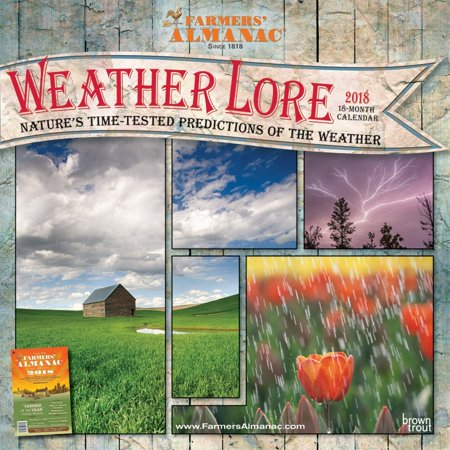 Farmers Almanac Weather Lore 2018 Calendar