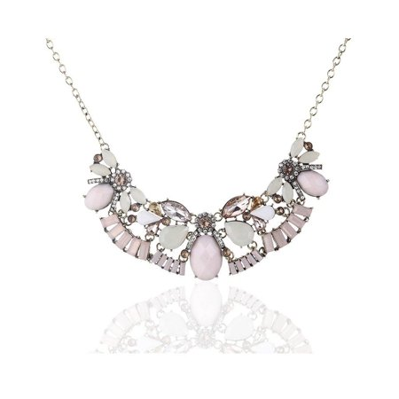 Novadab Cultured Crystal Costume Jewelry Neckpiece, Women Necklace - Costume Jewelry
