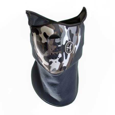 Neoprene Face and Neck Mask - Camouflage