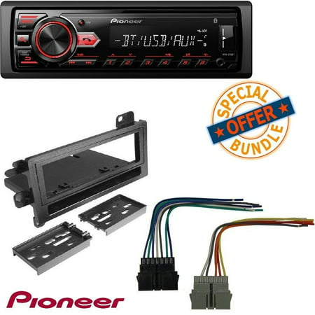 Pioneer MVH-291BT Car Stereo Media Player Bluetooth USB AUX MIC Hands on