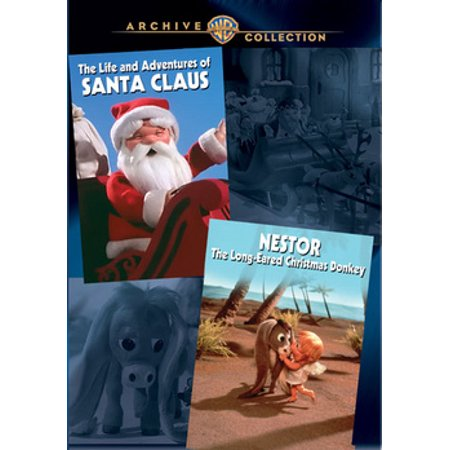 The Life and Adventures of Santa Claus / Nestor, The Long-Eared Christmas Donkey (Real Life Santa Claus Caught On Tape)
