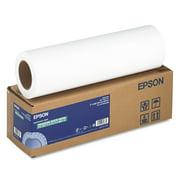 "Epson Enhanced Photo Paper Roll, 3"" Core, 17"" x 100 ft, Matte Bright White -EPSS041725"