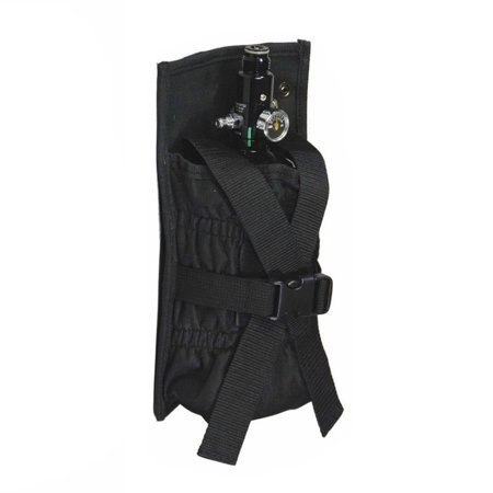 Tippmann Paintball Molle Vest Tank Pouch - Black Special Ops Paintball Vests