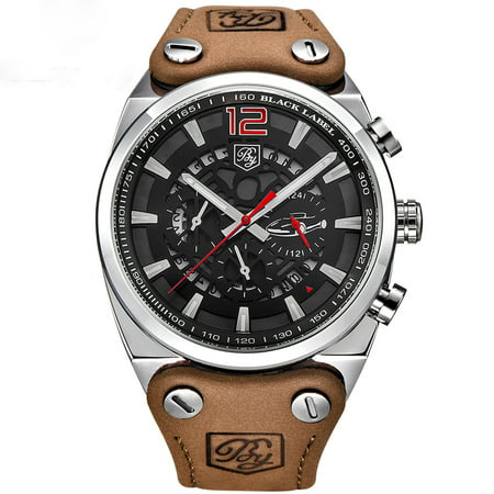 2023b55e5 BENYAR Brand quartz Mechanical WristWatches for Boy, Elegant Military  Aviator Tactical Skeleton Watches for Male