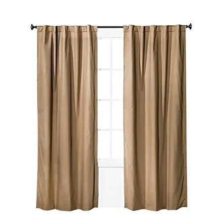 Pillowfort Twill Light Blocking Curtain Panels 2 Panels