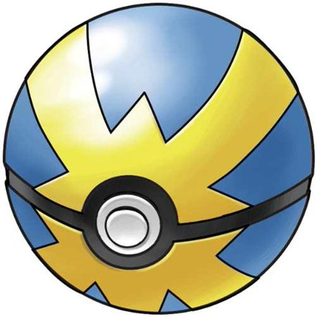 Pokemon Soft Foam Quick Ball Pokeball