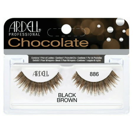 5faed783f3e (6 Pack) ARDELL Professional Lashes Chocolate Collection - Black Brown 886  - Walmart.com