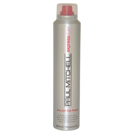Thermal Hair Products - Paul Mitchell Hot Off The Press Thermal Protection Hair Spray, 6 Oz