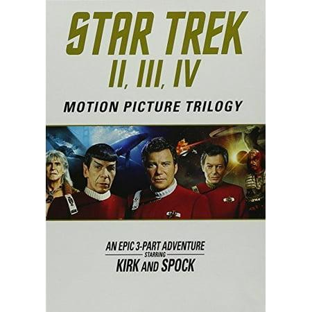 Star Trek II / Star Trek III / Star Trek IV (DVD)
