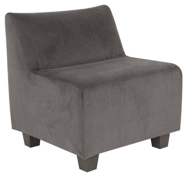 Accent Pod Chair in Pewter by Howard Elliott Collection