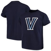 Villanova Wildcats Russell Athletic Youth Oversized Graphic Crew Neck T-Shirt - Navy