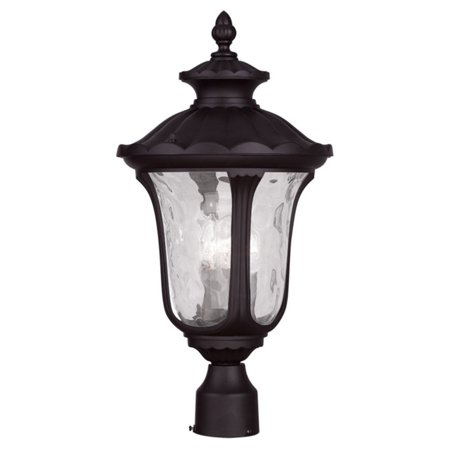 Oxford Selection Post - Livex Lighting Oxford 3 Light Outdoor Post Lantern