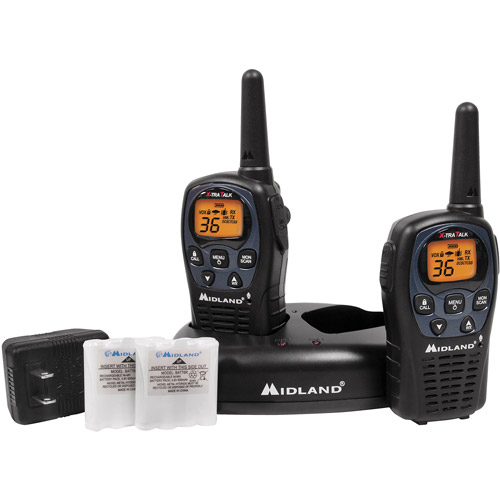 Midland GMRS 2-Way Radio with 36 Channels, LXT560VP3