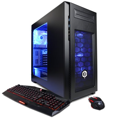 Cyberpowerpc Gamer Xtreme Gxi940 Desktop Pc With Intel Core I5 7400 Processor  8Gb Memory  1Tb Hard Drive And Windows 10 Home  Monitor Not Included