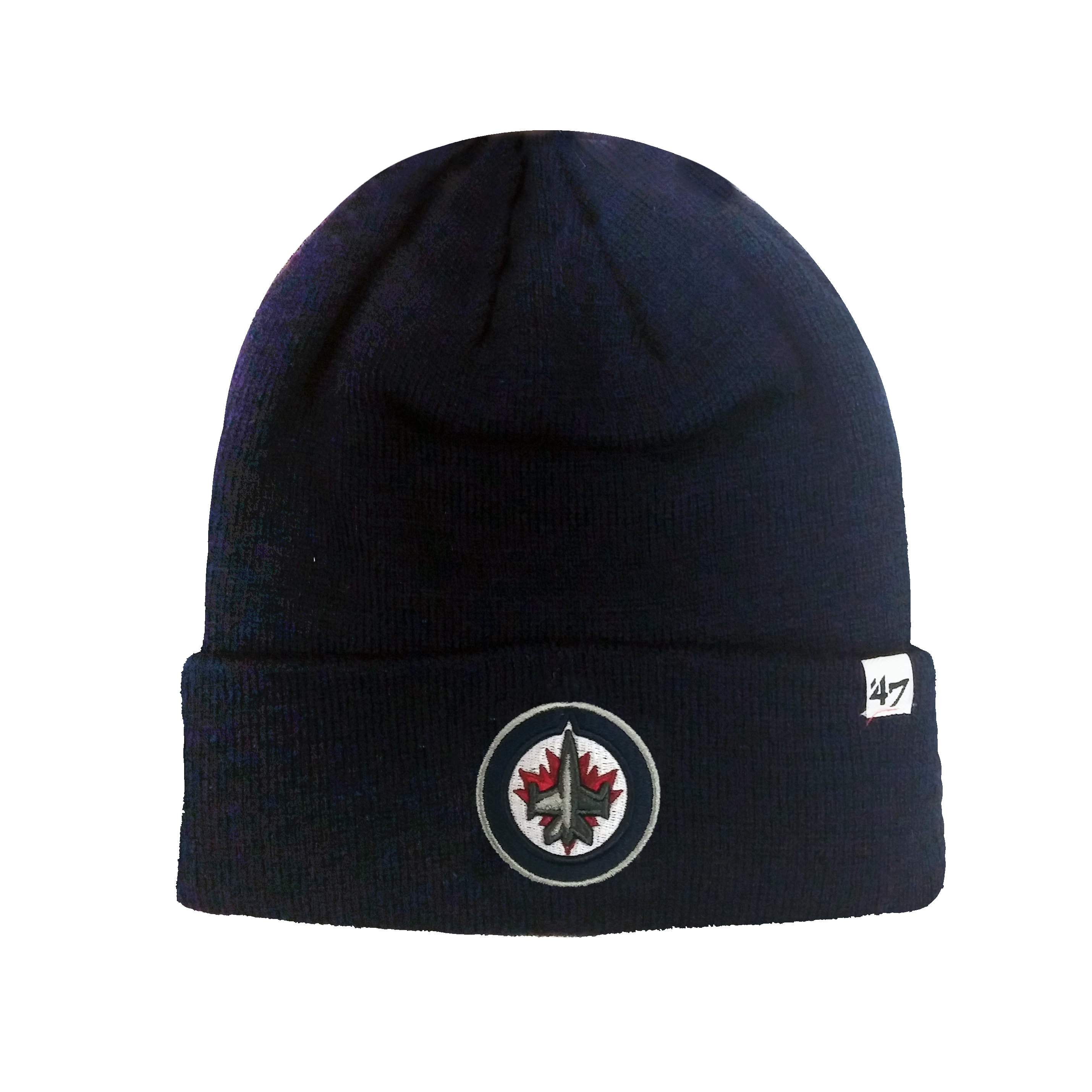 a059b43f36d Winnipeg Jets NHL Raised Cuff Knit Beanie - image 1 of 1 zoomed image