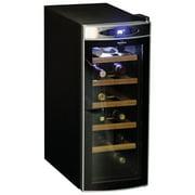 Koolatron 12-Bottle Deluxe Wine Cellar (Wc12-35D) - Black