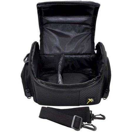 - Deluxe Photo/Video Camera Carrying Case Bag For Canon Vixia HF G10 S30 M301 G20