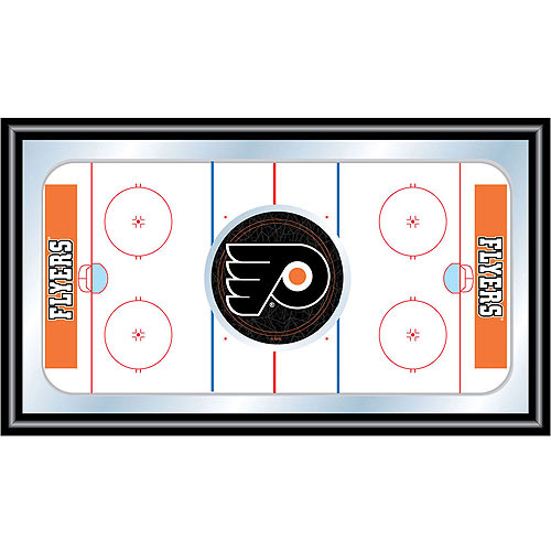 NHL Philadelphia Flyers Framed Hockey Rink Mirror