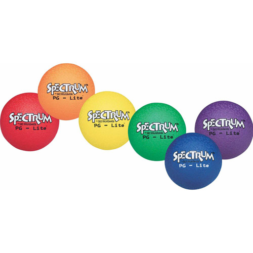 Spectrum PG-Lite Playground Ball Set, Set of 6