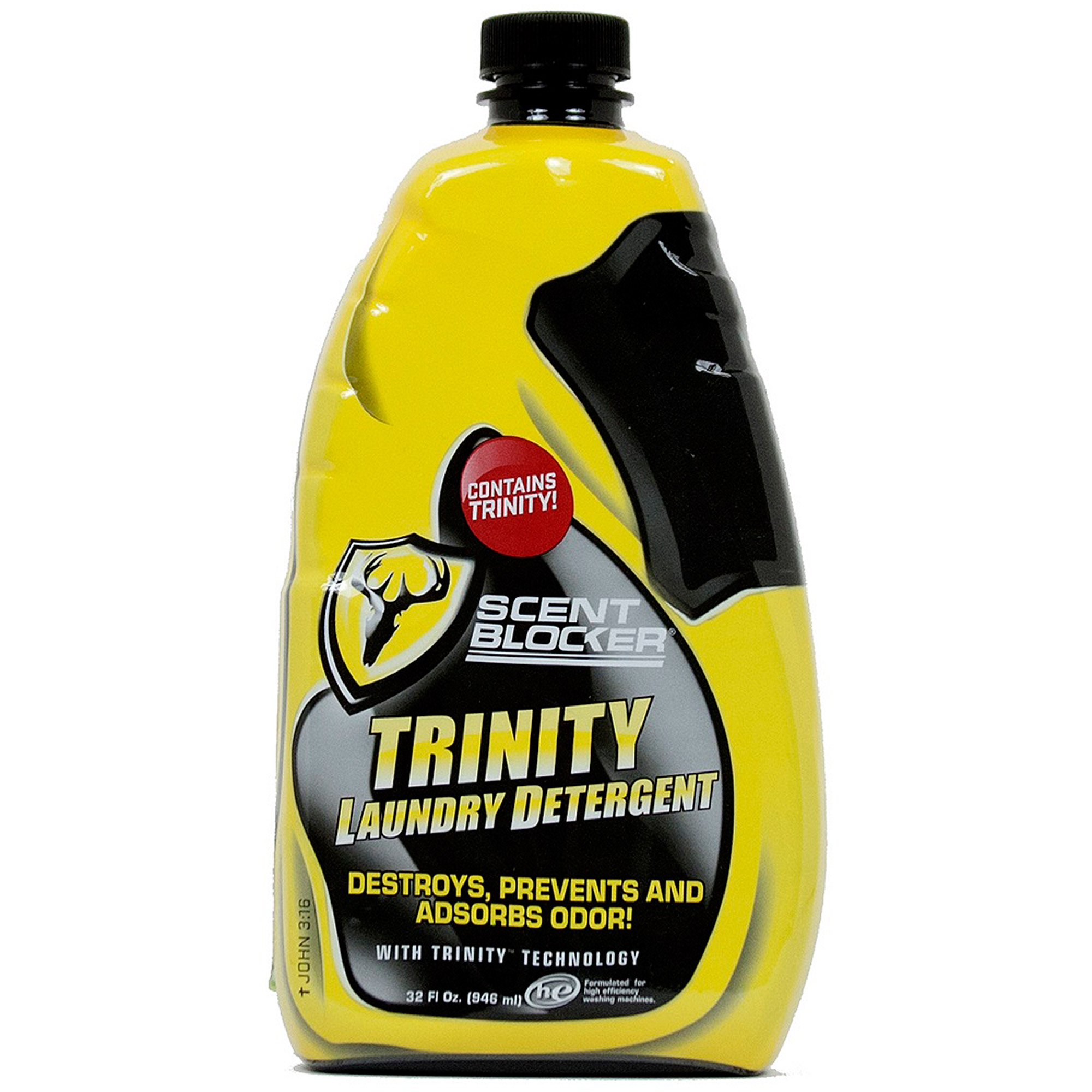 Scent Blocker Laundry Detergent with Trinity, 32 oz