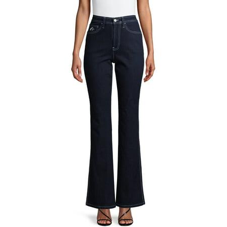 Jordache Vintage Women's Reese High Rise Slim Bootcut Jeans