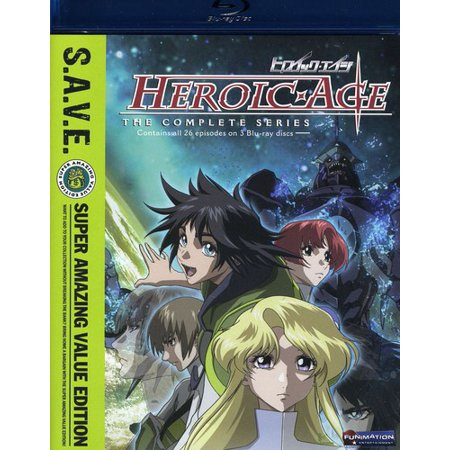 Heroic Age: The Complete Series (S.A.V.E.) (Blu-ray) (Japanese)