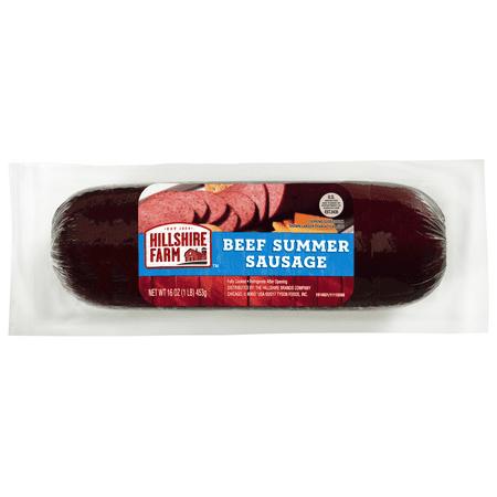 Hillshire Farm Beef Summer Sausage, 16 oz