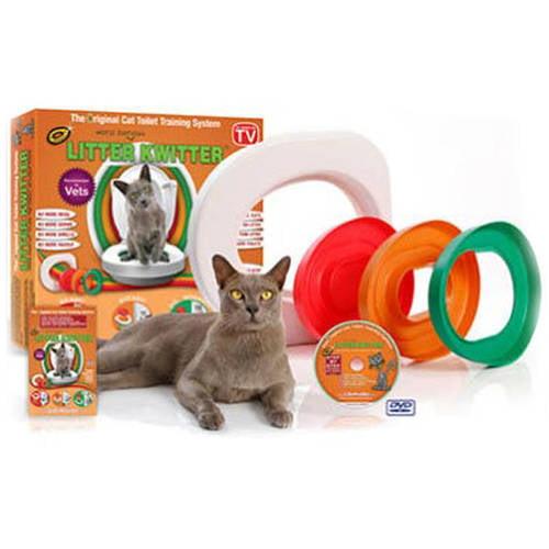 Litter Kwitter Cat Toilet Training System Walmart Com