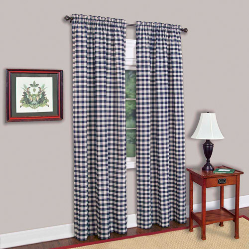 Buffalo Checkered Curtain Panel Available In Multiple Sizes And Colors by Overstock