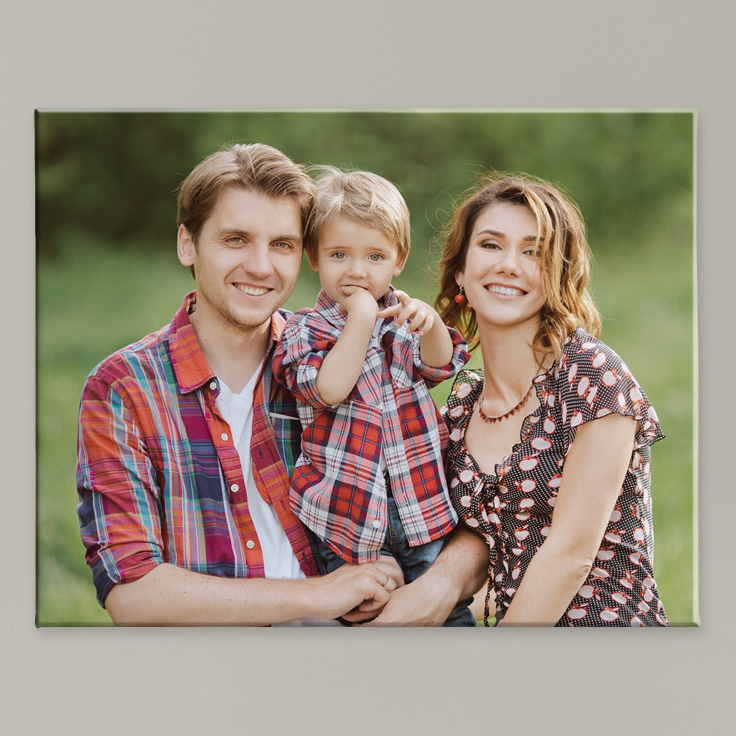 "Personalized Photo Canvas, 8"" x 10"""