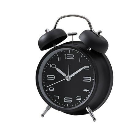 Creative Metal Alarm Clock with Night Light Mechanical Alarm Clock Fashion Multifunctional Personality Student Alarm Clock - image 1 of 6